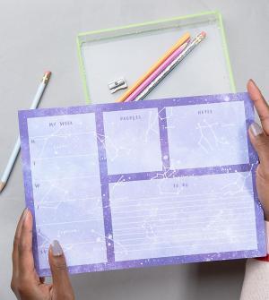 OHH DEER Настольный блокнот формата A4. Цвет: мульти