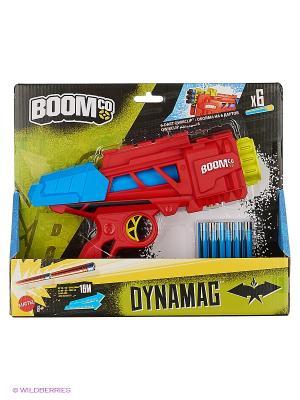 Игрушечное оружие Динамаг BOOMco. Цвет: голубой, красный