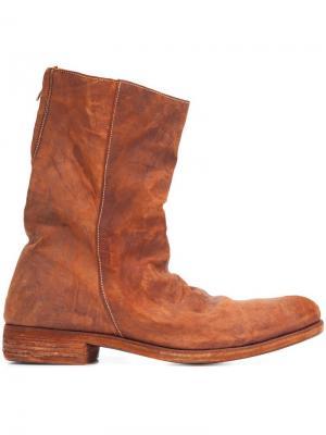 Ботинки по щиколотку A Diciannoveventitre. Цвет: коричневый