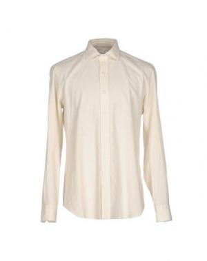 Pубашка SALVATORE PICCOLO. Цвет: бежевый