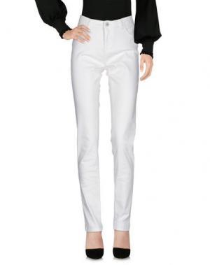 Повседневные брюки CLAUDIA STRÄTER. Цвет: белый