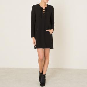Платье RAQUEL HARTFORD. Цвет: черный