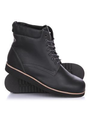 Ботинки зимние Rheinberger Classic Тim Black: мужские, 12265, 40. Цвет: черный