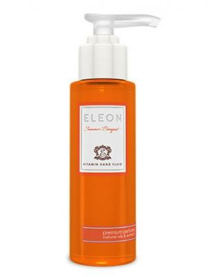 Тающий гель-флюид для рук  Summer Bouquet серии Коллекция парфюмера 100 мл ELEON.. Цвет: оранжевый