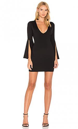 Платье arabella Susana Monaco. Цвет: черный