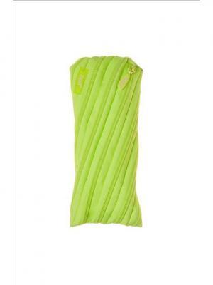 Пенал-сумочка NEON POUCH, цвет лайм ZIPIT. Цвет: зеленый