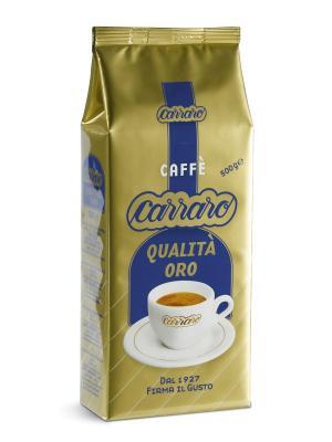 Carraro Qualita Oro 500 гр вак (зерн). Цвет: коричневый