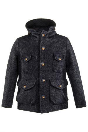 Пальто LOST IN ALBION. Цвет: синий