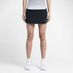 Теннисная юбка Court Pure 30 см Nike. Цвет: черный