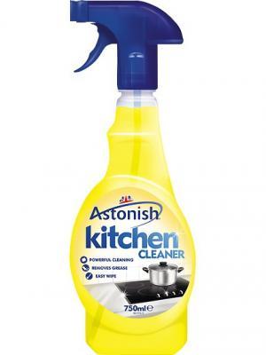 Astonish очиститель для кухни, мультиактивный удалитель жира, 750 мл. с распыл.. Цвет: желтый