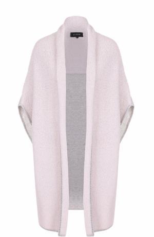 Кашемировый жилет свободного кроя St. John. Цвет: светло-розовый