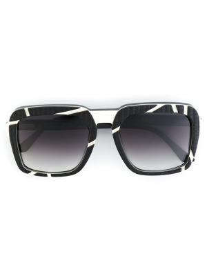 Солнцезащитные очки Conrad Ralph Vaessen. Цвет: чёрный