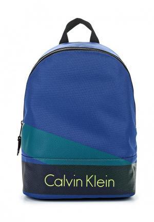 Рюкзак Calvin Klein Jeans. Цвет: синий