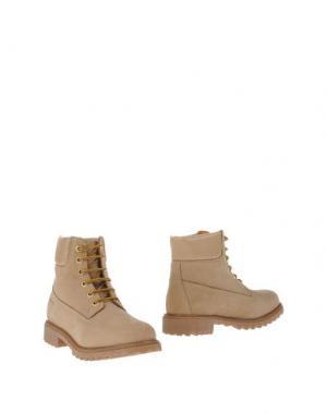 Полусапоги и высокие ботинки KEYS. Цвет: песочный
