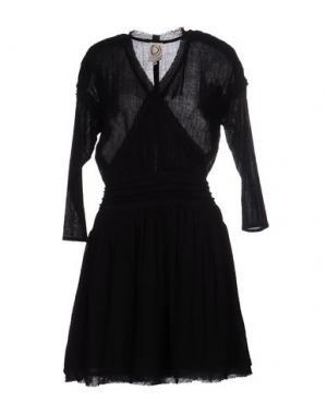 Короткое платье DRESS GALLERY. Цвет: черный