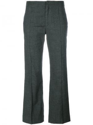 Укороченные брюки клеш Isabel Marant Étoile. Цвет: серый