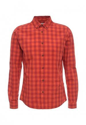 Рубашка Solid. Цвет: красный