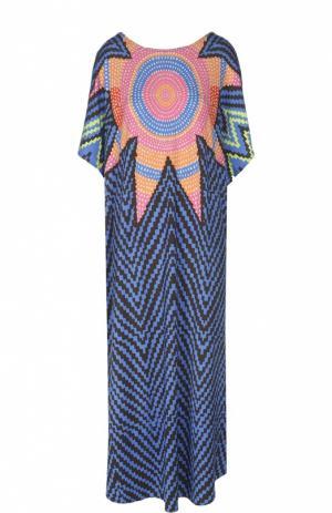 Пляжная туника Mara Hoffman. Цвет: разноцветный