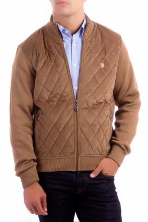 Куртка POLO CLUB С.H.A.. Цвет: коричневый
