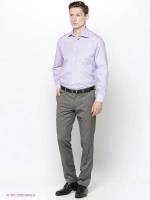 Рубашка Hans Grubber. Цвет: сиреневый