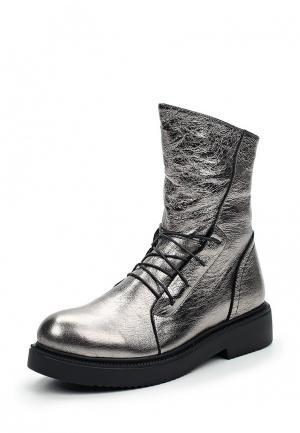 Ботинки Milana. Цвет: серебряный