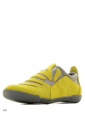 Ботинки BEST.A. Цвет: золотистый
