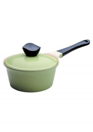Ковш с крышкой Evergreen Frybest. Цвет: зеленый (оливковый)