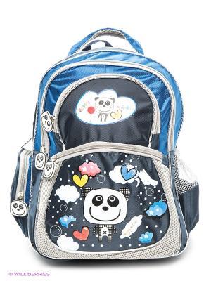 Рюкзак Back to School Funny Animals VELD-CO. Цвет: синий