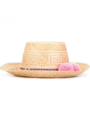 Шляпа Kaikai Yosuzi. Цвет: телесный
