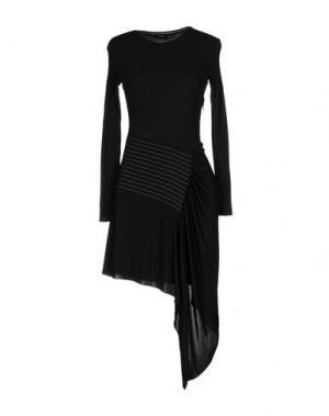 Короткое платье ATLEIN. Цвет: свинцово-серый