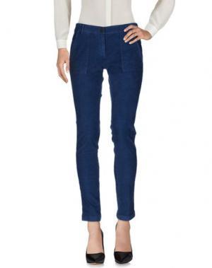 Повседневные брюки 19.70 NINETEEN SEVENTY. Цвет: грифельно-синий