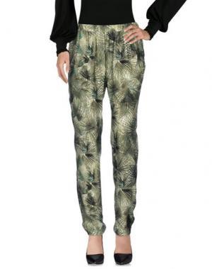 Повседневные брюки HARTFORD. Цвет: зеленый
