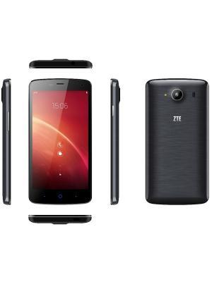 Смартфон ZTE Blade L370 black. Цвет: черный