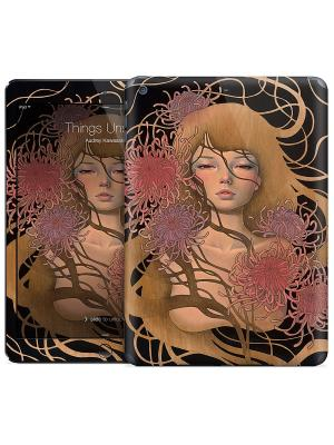 Наклейка на iPad Air Things Unsaid - Audrey Kawasaki Gelaskins. Цвет: бежевый, черный