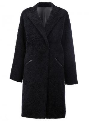 Двустороннее пальто 32 Paradis Sprung Frères. Цвет: чёрный