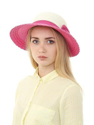 Шляпа Migura. Цвет: белый, фиолетовый