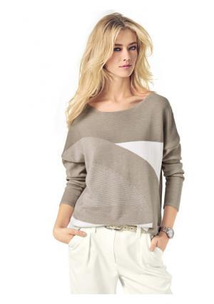 Пуловер PATRIZIA DINI by Heine. Цвет: розовый, серый