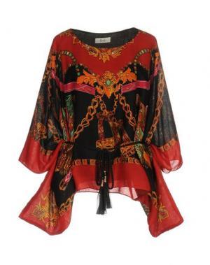 Блузка ELLA LUNA. Цвет: красный