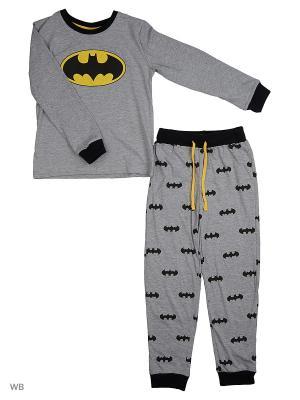 Пижама: джемпер, брюки Modis. Цвет: серый меланж