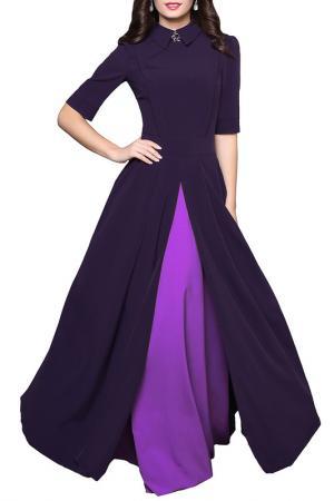 Платье Grey Cat. Цвет: фиолетово-сиреневый