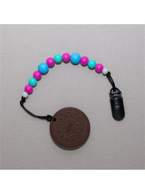 Игрушка-подвеска Краски лета. Цвет: темно-коричневый, бирюзовый, голубой, малиновый, светло-серый