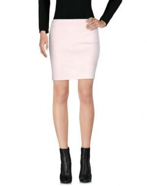 Мини-юбка AMINA RUBINACCI. Цвет: светло-розовый