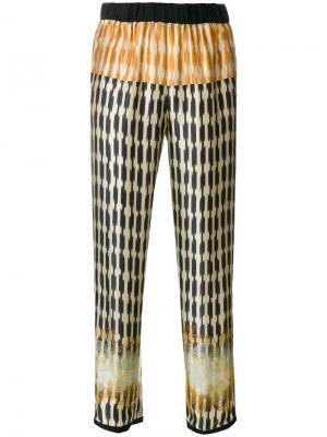 Pyjama-style pants Forte. Цвет: многоцветный