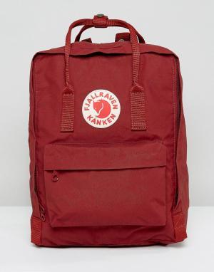 Fjallraven Красный классический рюкзак. Цвет: красный