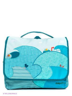 Рюкзак Lilliputiens. Цвет: бирюзовый, голубой