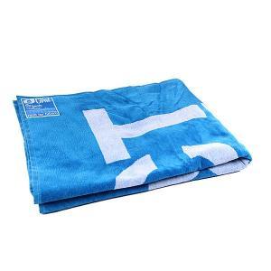 Полотенце  Towel Logo White/Blue Picture Organic. Цвет: голубой,белый