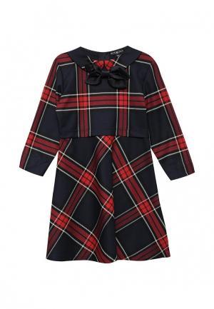 Платье Junior Republic. Цвет: разноцветный
