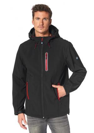 Куртка Softshell POLARINO. Цвет: темно-синий, черный