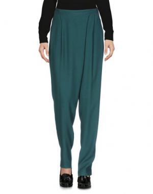Повседневные брюки INDI & COLD. Цвет: изумрудно-зеленый