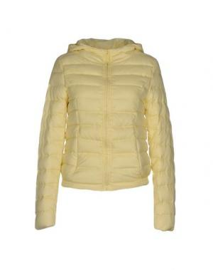 Куртка DUCK FARM. Цвет: светло-желтый